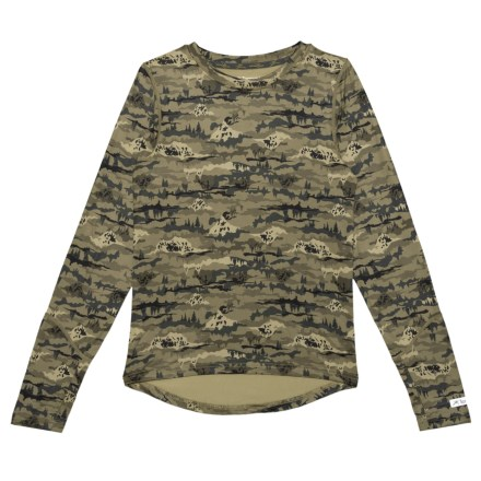 2296cd8ba Terramar Thermolator 2.0 Base Layer Top - Long Sleeve (For Little and Big  Kids)