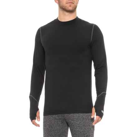Terramar Thermolator 2.0 Base Layer Top - UPF 50+, Long Sleeve (For Men) in Black - 2nds