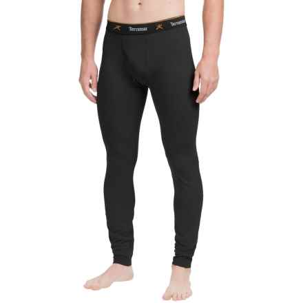 Terramar Thermolator Base Layer Bottoms - Midweight (For Men) in Black - Closeouts