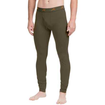 Terramar Thermolator Base Layer Bottoms - Midweight (For Men) in Dark Loden - Closeouts