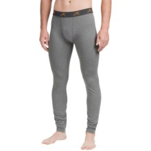Terramar Thermolator Base Layer Bottoms - Midweight (For Men) in Heather Grey - Closeouts