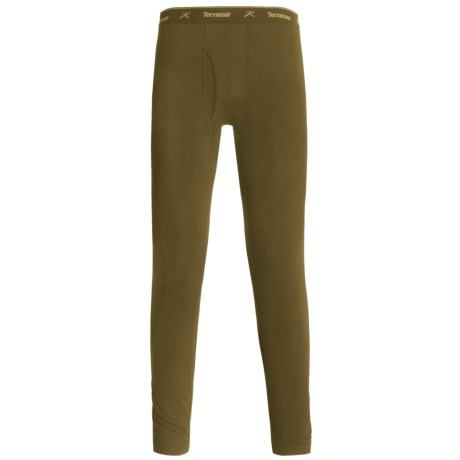Terramar Thermolator Base Layer Bottoms - Midweight (For Men) in Loden