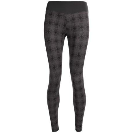 Terramar Thermolator Base Layer Bottoms - UPF 25+ (For Women) in Black Print