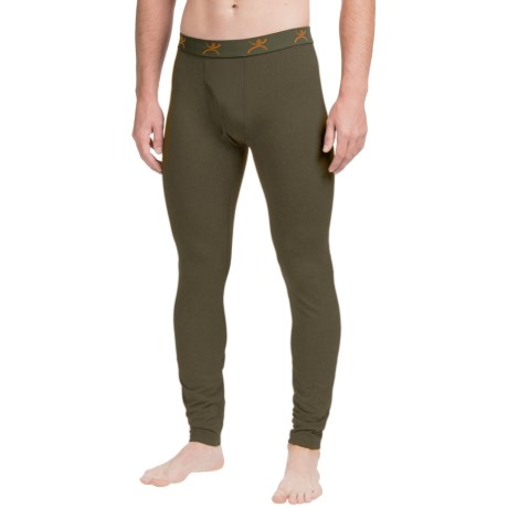 Terramar Thermolator Base Layer Pants - Midweight (For Men) in Dark Loden