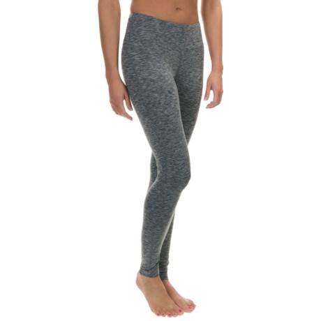Terramar Thermolator Base Layer Pants - UPF 25+ (For Women) in Grey Melange