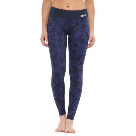 Terramar Thermolator Base Layer Pants - UPF 25+ (For Women) in Ink Alpine Print - Closeouts