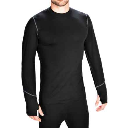 Terramar Thermolator Base Layer Top - Midweight, Long Sleeve (For Men) in Black - Closeouts