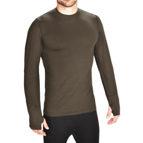 Terramar Thermolator Base Layer Top - Midweight, Long Sleeve (For Men) in Dark Loden