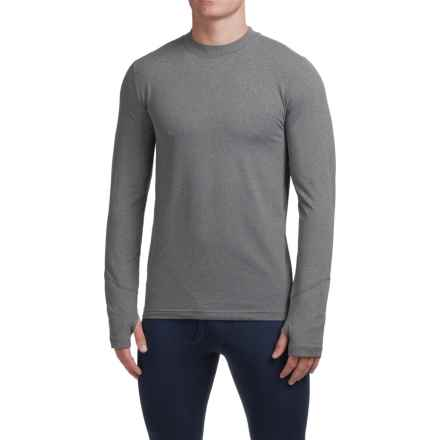 Terramar Thermolator Base Layer Top - Midweight, Long Sleeve (For Men) in Heather Grey - Closeouts