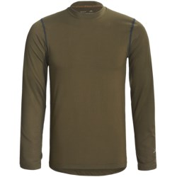 Terramar Thermolator Base Layer Top - Midweight, Long Sleeve (For Men) in Black