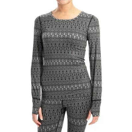 Terramar Thermolator Base Layer Top - UPF 25+, Scoop Neck, Long Sleeve (For Women)