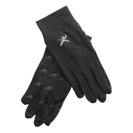 Terramar Thermolator II Glove Liners (For Men and Women) in Black