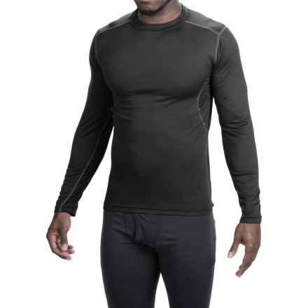 Terramar TXO 1.0 Crew Base Layer Top - UPF 50+, Long Sleeve (For Men) in Carbon - Closeouts