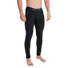 Terramar TXO 2.0 Base Layer Bottoms - UPF 50, Fleece Lined (For Men) in Carbon - Closeouts