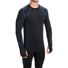 Terramar TXO 2.0 Base Layer Top - UPF 50+, Long Sleeve (For Men) in Carbon - Closeouts