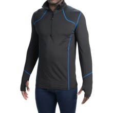 Terramar TXO 2.0 Base Layer Top - UPF 50+, Zip Neck, Long Sleeve (For Men) in Carbon - Closeouts