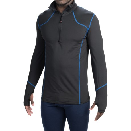 Terramar TXO 2.0 Base Layer Top UPF 50+, Zip Neck, Long Sleeve (For Men)