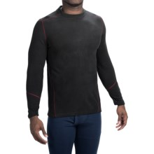 Terramar TXO 3.0 Base Layer Top - UPF 50+, Crew Neck, Long Sleeve  (For Men) in Carbon - Closeouts