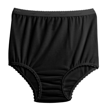 Terramar Underwear Briefs (For Women) in Black