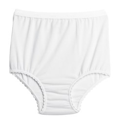 Terramar Underwear Briefs (For Women) in White