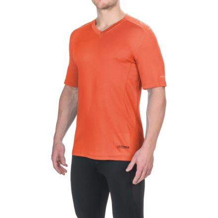 9edd56cc223 Terramar V-Neck T-Shirt - UPF 50+, Short Sleeve (For