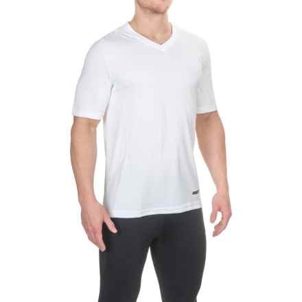 Terramar V-Neck T-Shirt - UPF 50+, Short Sleeve (For Men) in White - Closeouts