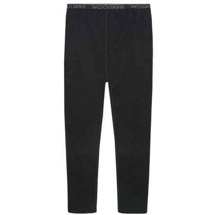 Terramar Woolskins Base Layer Pants - Merino Wool (For Kids) in Black - Closeouts