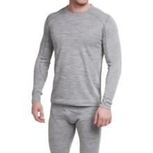 Terramar Woolskins Base Layer Top - Merino Wool, Long Sleeve (For Men) in Grey - Closeouts