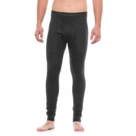 Terramar Woolskins Long Underwear Bottoms - Merino Wool, Heavyweight (For Men) in Black - Closeouts