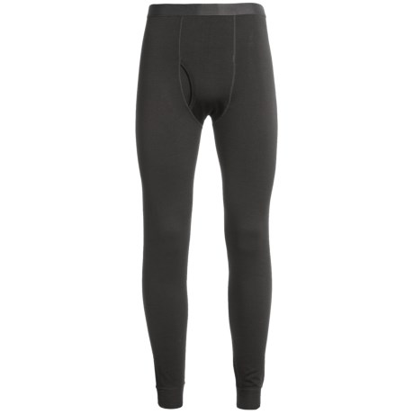 Terramar Woolskins Long Underwear Bottoms - Merino Wool, Heavyweight (For Men) in Black