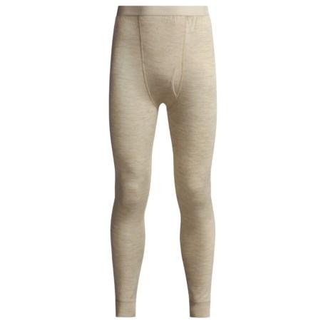 Terramar Woolskins Long Underwear Bottoms - Merino Wool, Heavyweight (For Men) in Black