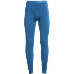 Terramar Woolskins Long Underwear Bottoms - Merino Wool, Heavyweight (For Men) in Imperial Blue