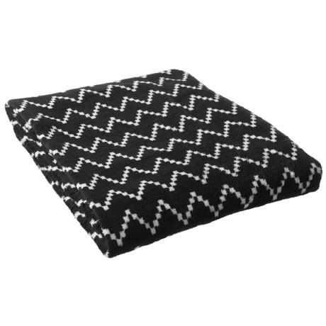 """Territory Modern Dog Nap Blanket in a Bag- 40x50"""" in Black"""