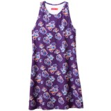Terry Floral Bike Tunic Shirt - Sleeveless (For Women)