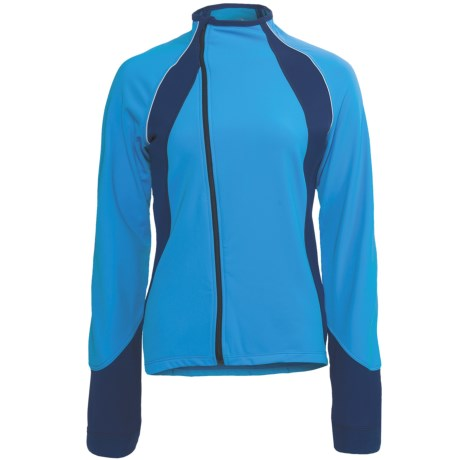 Terry GT Thermal Cycling Jersey - Long Sleeve (For Women) in River/Night