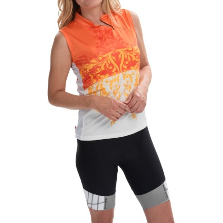 Terry Mandarin Cycling Jersey Sleeveless (For Women)