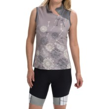 Terry Mandarin Cycling Jersey - Sleeveless (For Women) in Dandelion - Closeouts