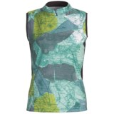 Terry Mandarin Cycling Jersey - Sleeveless (For Women)