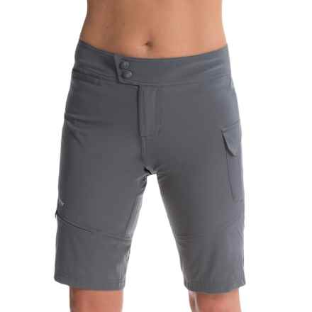 Terry Precision Cycling Terry Metro Cycling Shorts - Removable Liner Shorts (For Women) in Steel Gray - Closeouts