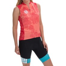 Terry Signature Cycling Jersey - Sleeveless (For Women) in Ride Girl Paisley - Closeouts
