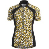 Terry Touring Cycling Jersey - UPF 50+, Short Sleeve (For Women)