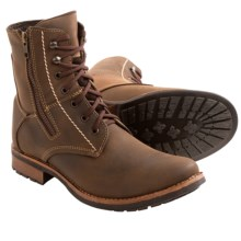 Testosterone Hi and Dry Boots (For Men) in Brown Leather - Closeouts