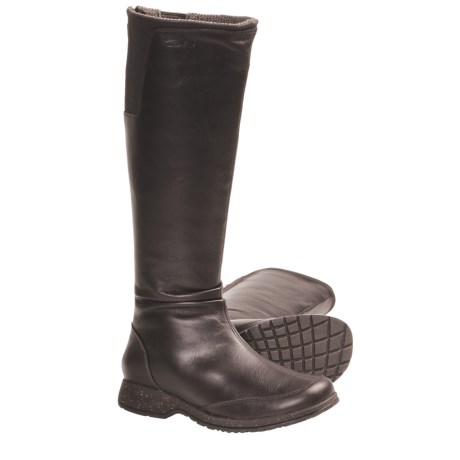Teva Afton Boots - Leather (For Women) in Tan