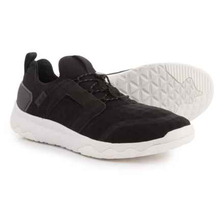 Teva Arrowood Swift Lace Sneakers (For Men) in Black/White - Closeouts