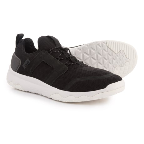 Teva Arrowood Swift Lace Sneakers (For Men) in Black/White