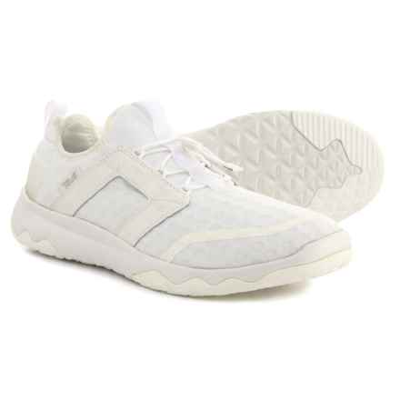 Teva Arrowood Swift Lace Sneakers (For Men) in White - Closeouts