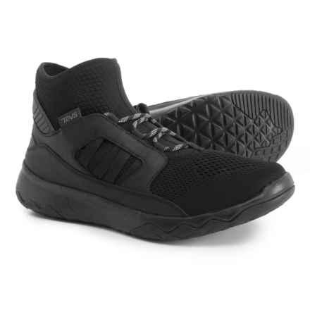Teva Arrowood Swift Mid Premier Sneakers (For Men) in Black - Closeouts