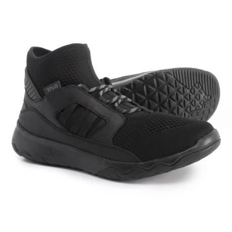 Teva Arrowood Swift Mid Premier Sneakers (For Men) in Black