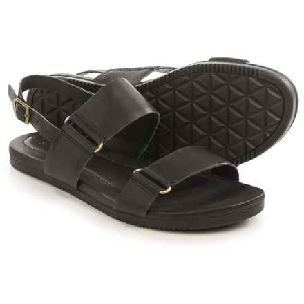 Teva Avalina Sandals - Leather (For Women) in Black - Closeouts