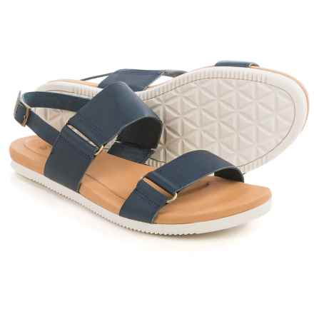 Teva Avalina Sandals - Leather (For Women) in Navy - Closeouts